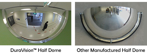 Half Dome Mirrors For Hospitals