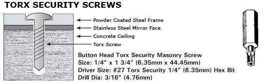 Torx Screw Installation