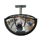 Forklift Half Dome Rear Vision Mirror