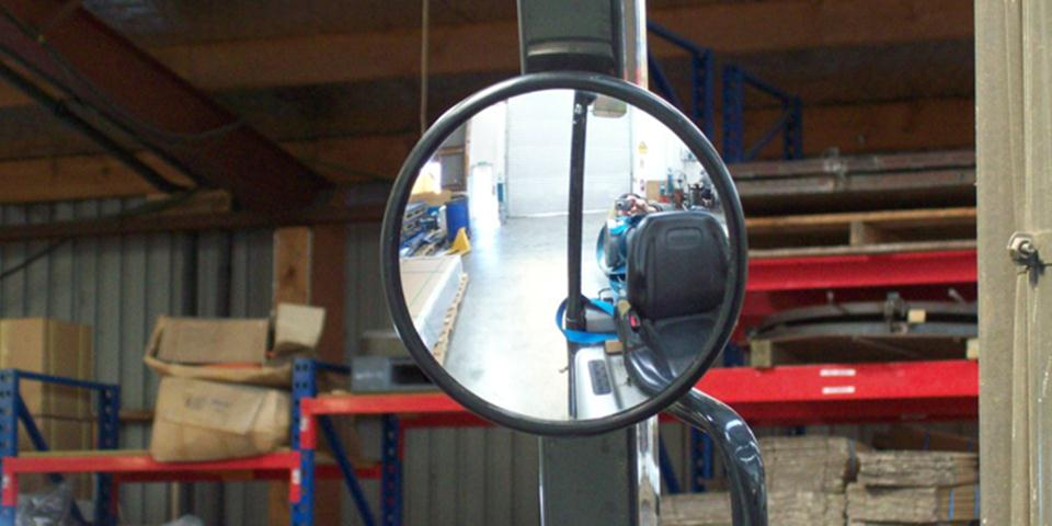 Forklift Standard Rear Vision Mirror