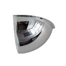 Indoor Quarter Dome Convex Mirror