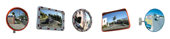 Outdoor Convex Mirrors