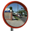 Outdoor DeLuxe Stainless Steel Convex Mirror