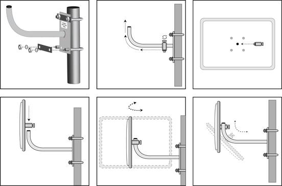 Rectangular Heavy Duty Stainless Steel Convex Mirror