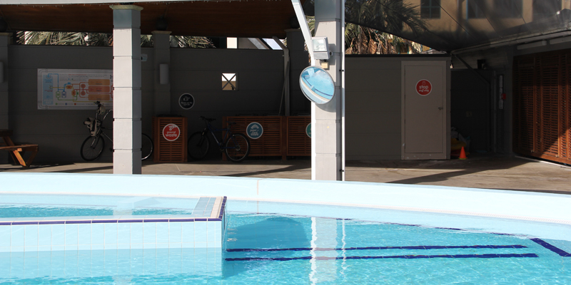 Pool Observation Mirrors